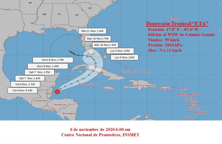 cuba, zeta, lluvias, tormenta tropical, ciclones, huranes, desastres naturales