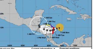 centroamerica, huracanes