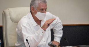 sancti spiritus, covid-19, coronavirus, salud publica, miguel diaz-canel, presidente de la republica de cuba