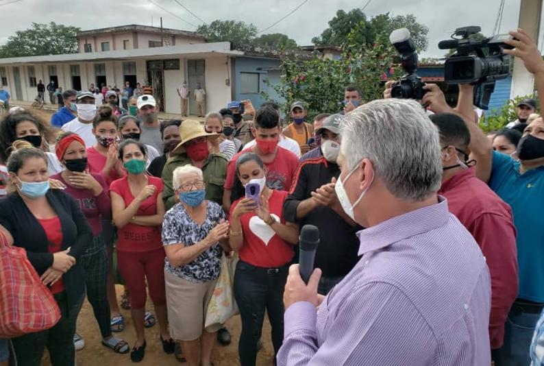 matanzas, visita gubernamental, miguel diaz-canel, presidente de la republica de cuba, zafra azucarera