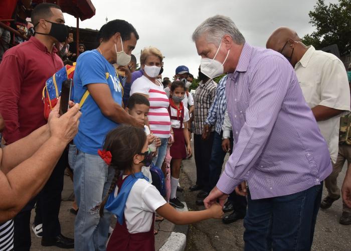 matanzas, visita gubernamental, miguel diaz-canel, presidente de la republica de cuba, zafra azucarera, agricultura