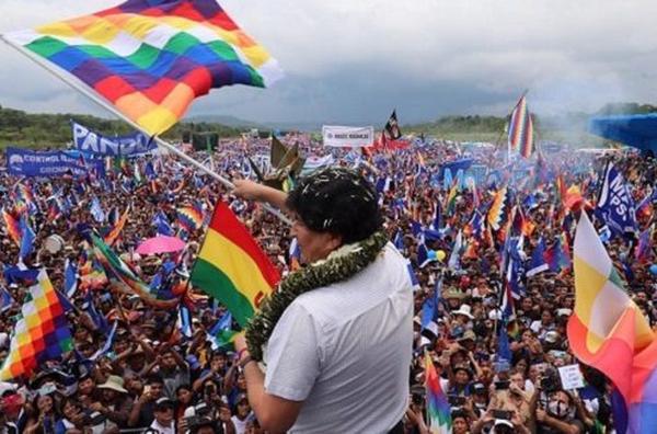 bolivia, evo morales, movimiento al socialismo, mas
