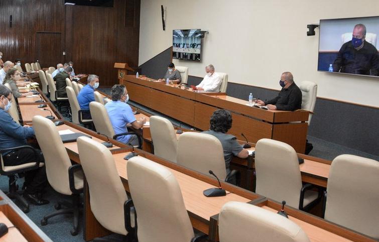 cuba, informatizacion de la sociedad, miguel diaz-canel, etecsa, presidente de la republica de cuba