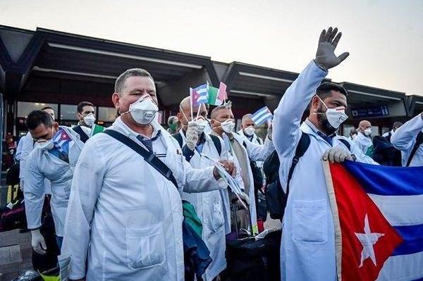 sancti spiritus, contingente henry reeve, solidaridad, medicos espirirtuanos, covid-19, coronavirus, salud publica