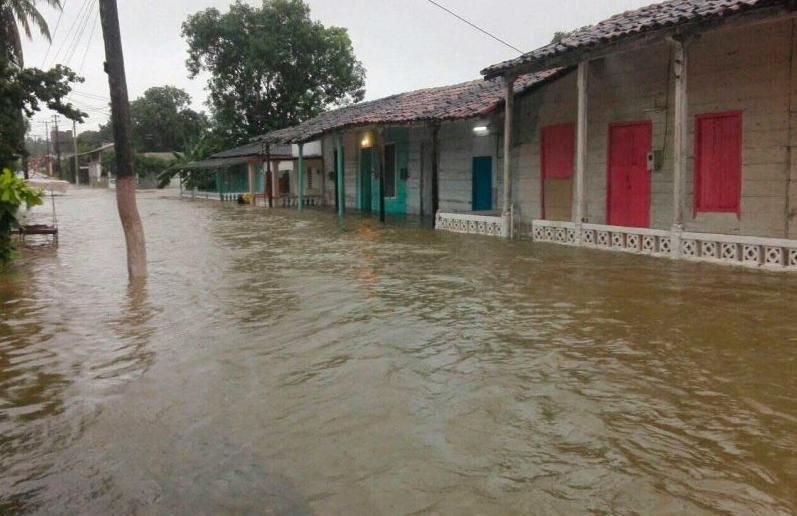 yaguajay, lluvias en sancti spiritus, tormenta tropical eta, defensa civil, consejo de defensa, ciclones, desastres naturales