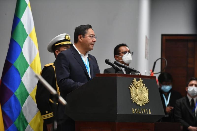 bolivia, luis arce, fuerzas armadas, mas