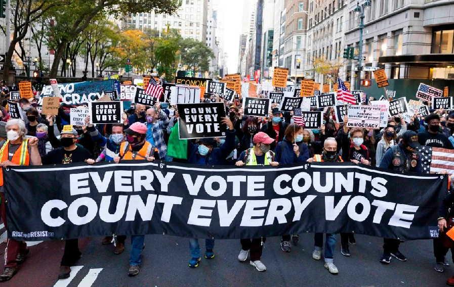 estados unidos, elecciones en estados unidos, joe biden, donald trump, manifestaciones, protestas
