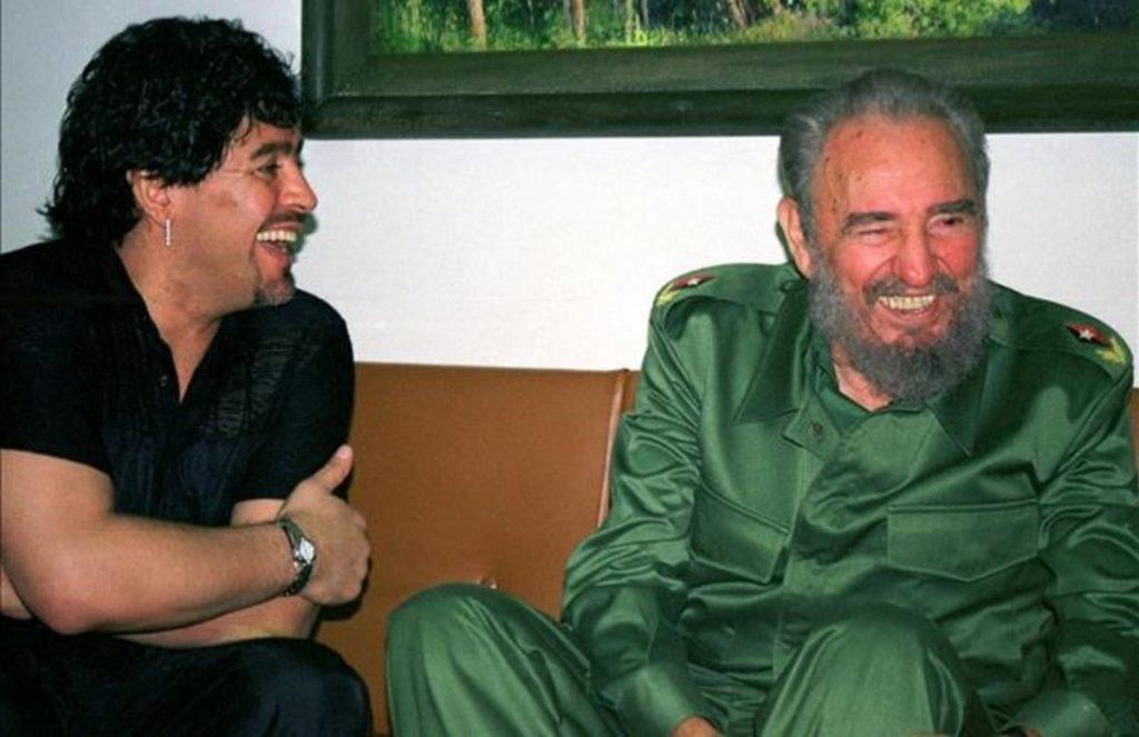 Fidel Castro y Maradona son 'amigos hasta en la eternidad', aseguró el presidente cubano.