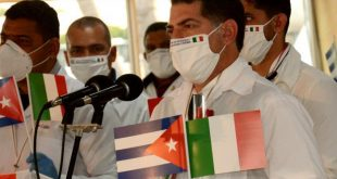 cuba, italia, medicos cubanos, contingente henry reeve, coronavirus, covid-19