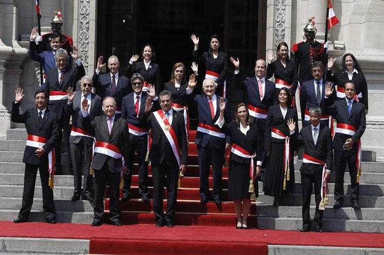 Por sus antecedentes, varios de los recién nombrados ministros fueron cuestionados en la nación andina. (Foto: PL)