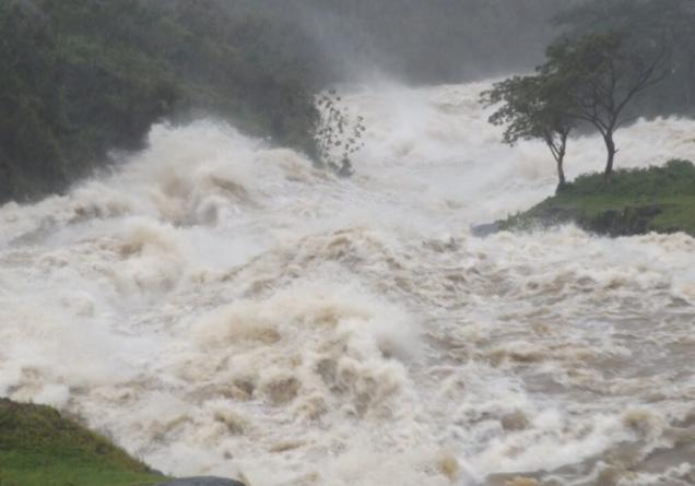 sancti spiritus, presa zaza, recursos hidraulicos, tormenta tropical, ciclones, huracanes, lluvias, tormenta tropical eta, cabaiguan
