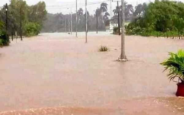sancti spiritus, ciego de avila, tormenta tropical eta, carretera central, vialidad, transito