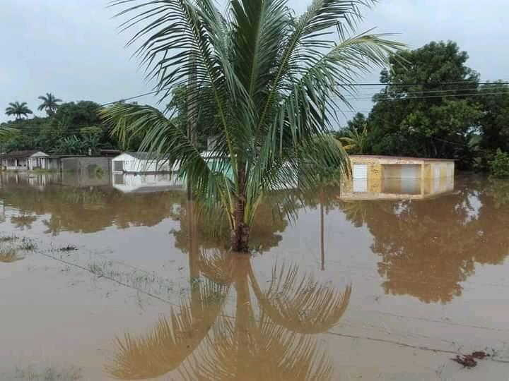 Aunque los daños no fueron significativos, los mayores problemas se acumulan en el municipio cabecera, Jatibonico, Taguasco y La Sierpe. (Foto: Lázaro A. Cabrera)