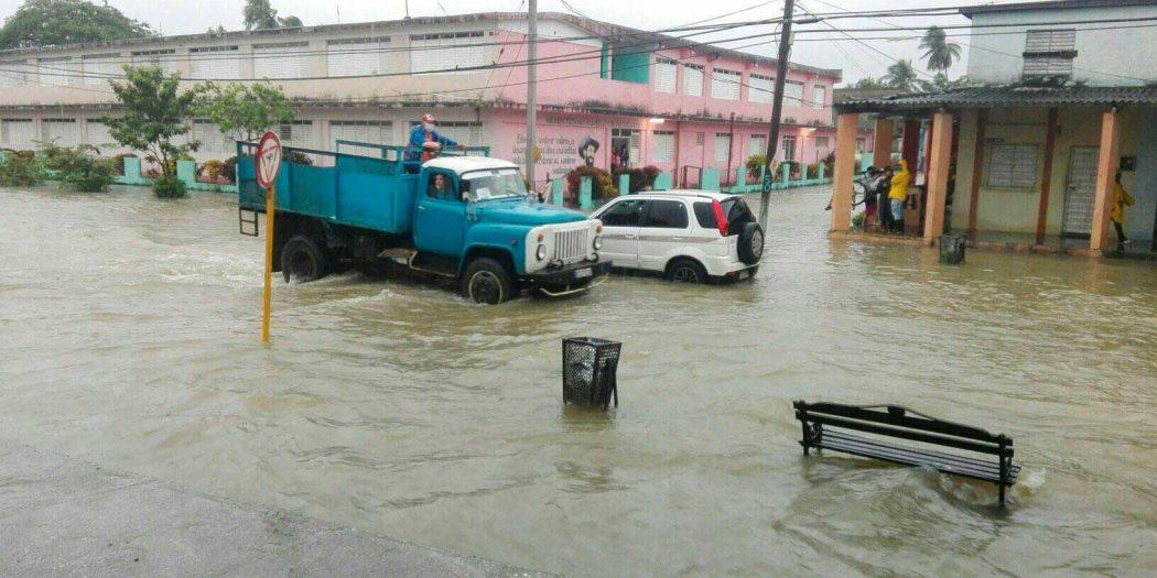 yaguajay, lluvias en sancti spiritus, tormenta tropical eta, defensa civil, consejo de defensa