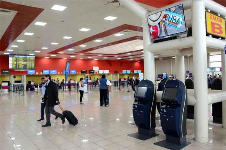cuba, aeropuerto, covid-19, coronavirus, salud publica