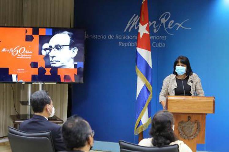 Anayansi Rodríguez ratificó que esas naciones asiáticas siempre podrán contar con Cuba y con su defensa del multilateralismo. (Foto: PL)