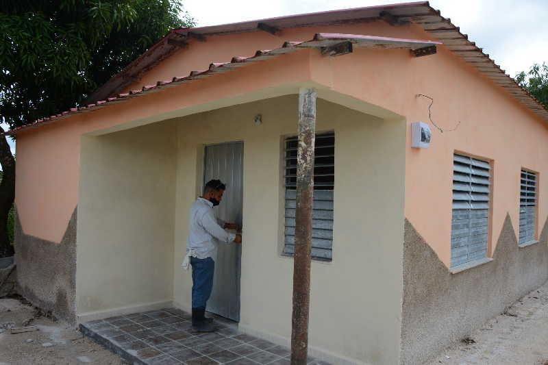sancti spiritus, construccion de viviendas, huracanes, desastres naturales, tormenta tropical
