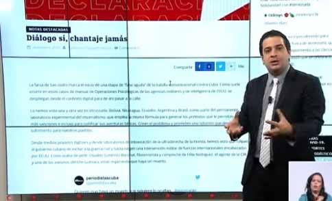 La televisión cubana ha puesto al descubierto la tergiversación de la realidad cubana.