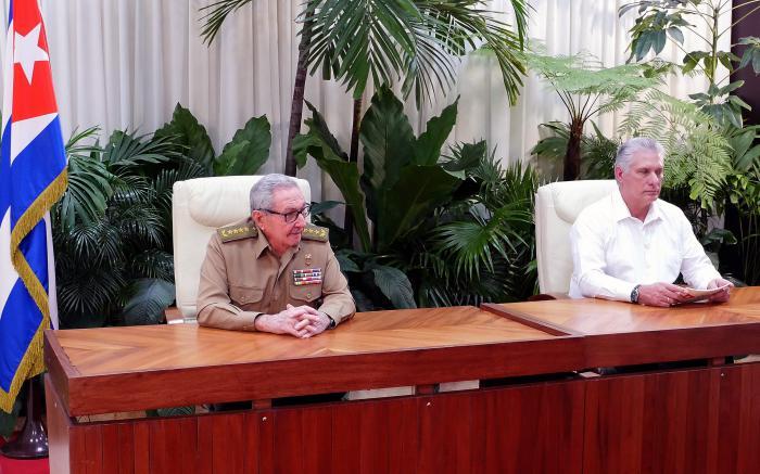 El presidente cubano Miguel Díaz-Canel informó a la población sobre el inicio de la Tarea Ordenamiento. (Foto: Estudios Revolución)