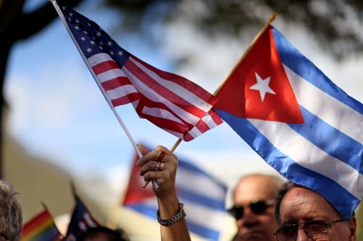 La Coalición Alianza Martiana reiteró el rechazo al bloqueo de Estados Unidos contra la mayor de las Antillas. (Foto: PL)