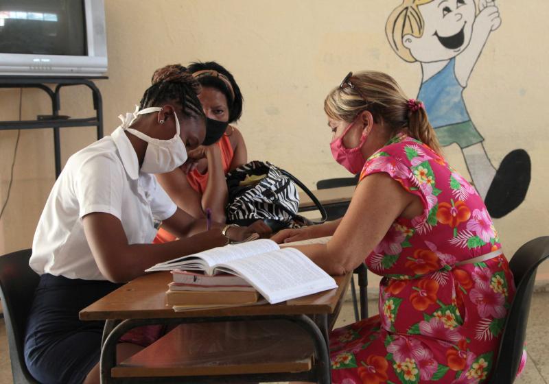 sancti spiritus, escuelas pedagogicas, curso escolar 2020-2021