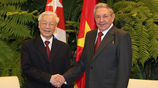 Las relaciones entre Vietnam y Cuba son un tesoro invaluable y un símbolo de la época, señaló Phu Trong. (Foto: Archivo)