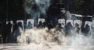chile, manifestaciones, protestas, carabineros
