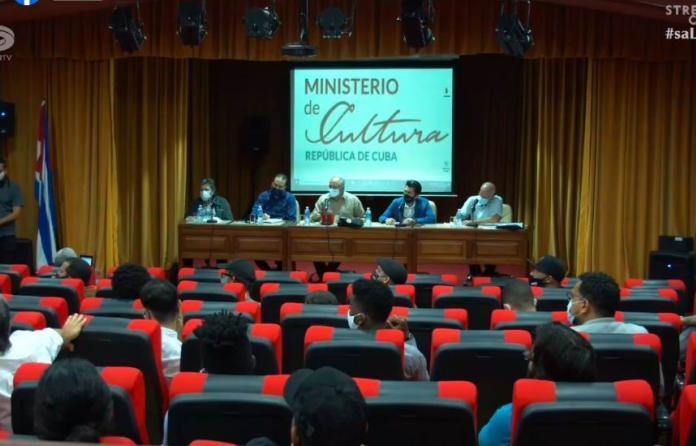 cuba, ministerio de cultura, jovenes creadores, subversion contra cuba, mincult, uneac, ahs