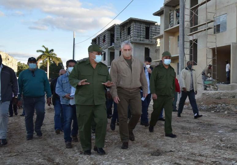 cuba, la habana, visit gubernamental, miguel diaz-canel, presidente e la republica de cuba, construccion de viviendas