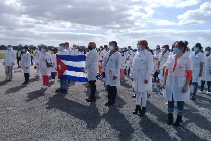 cuba, qatar, medicos cubanos, contingente henry reeve