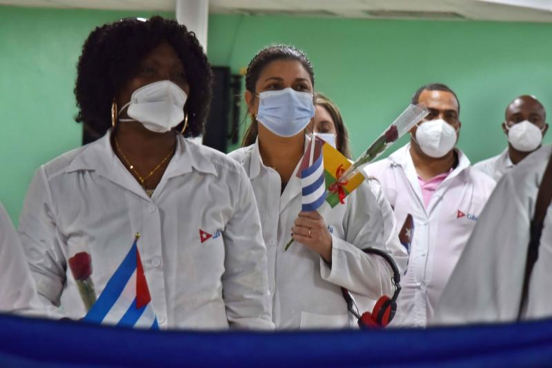 cuba, guinea bissau, medicos cubanos, contingente henry reeve, covid-19, miguel diaz-canel