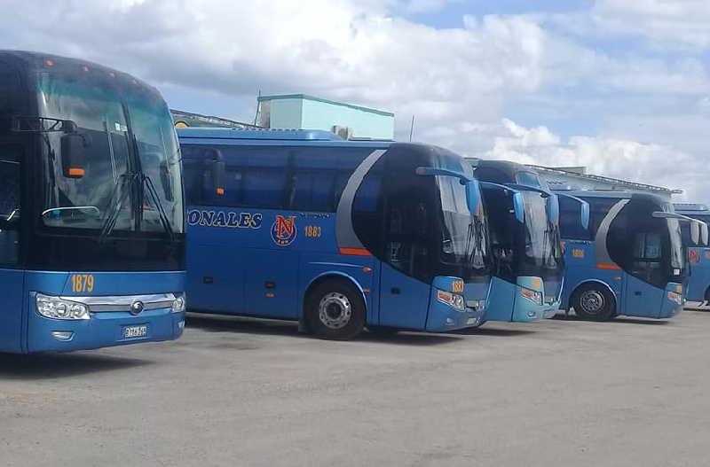 Para el nuevo año constituye un propósito de esos transportistas aumentar el coeficiente de disponibilidad técnica. (Foto: Edelio Torres)