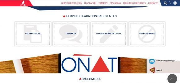 La página se convierte en una plataforma novedosa que permite realizar trámites en línea en su apartado de Servicios Para Contribuyentes.
