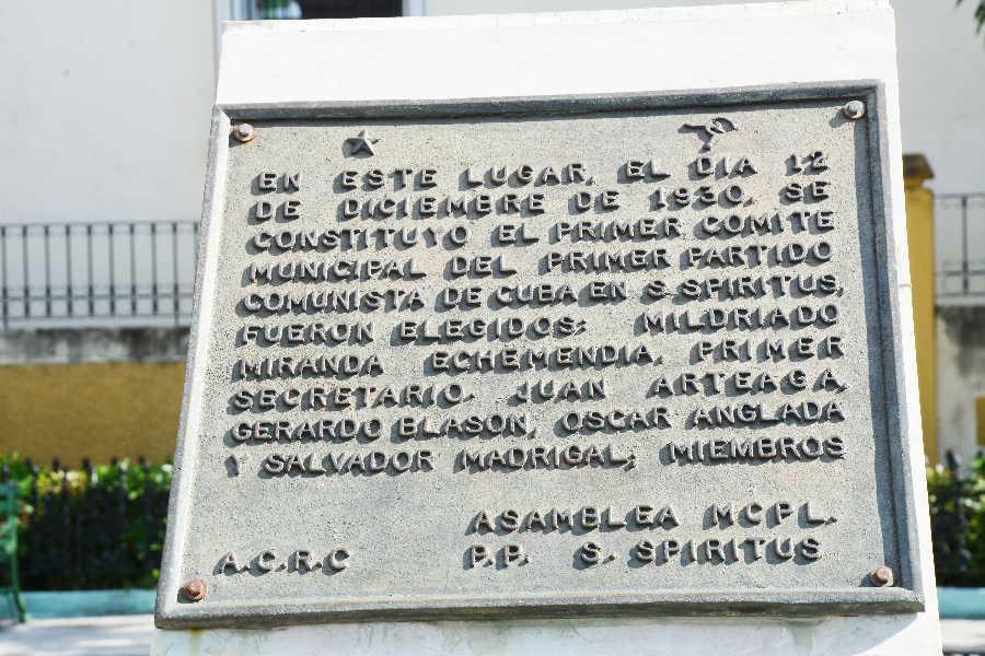 sancti spiritus, partido comunista de cuba