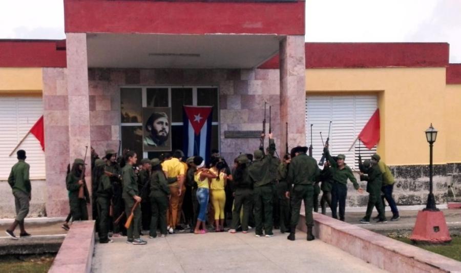 yaguajay, camilo cienfuegos, frente norte de las villas, revolucion cubana
