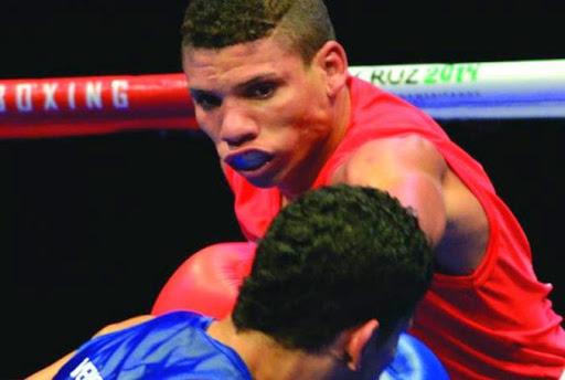 El boxeador Yosbany Veitía es uno de los aspirantes espirituanos con grandes posibilidades de integrar la comitiva olímpica cubana. (Foto: Ismael Batista Ramírez)