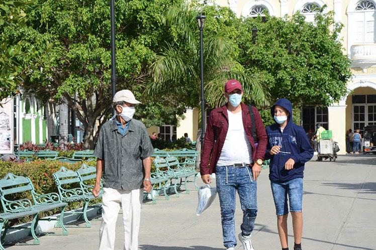 De los ocho municipios espirituanos, solo Taguasco y La Sierpe se mantienen sin infectados. (Foto: PL)