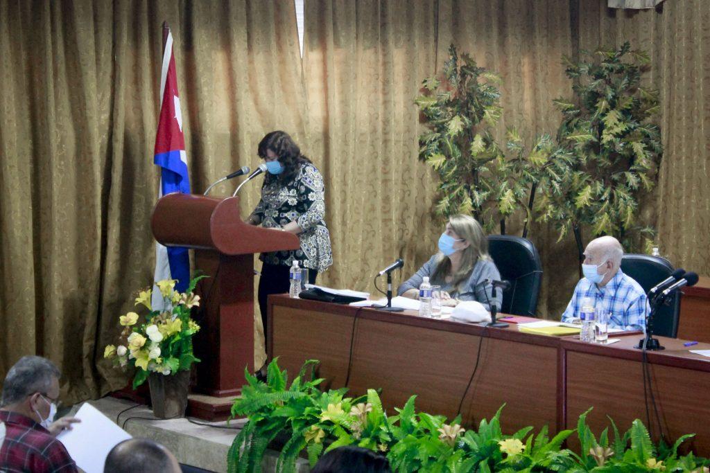 La gobernadora Teresita Romero esbozó, entre otros elementos, los resultados del territorio en la producción agropecuaria.