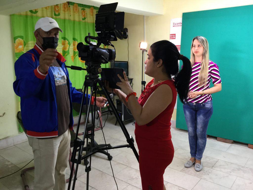La producción audiovisual de Escambrayno despegó hasta que llegó VisionEs.