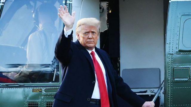 Good Bye: A las buenas o a las malas Donald Trump se tuvo que marchar de la Casa Blanca.