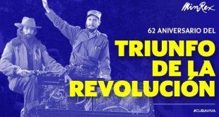 cuba, revolucion cubana, aniversario 62 de la revolucion cubana, bruno rodriguez, canciller cubano