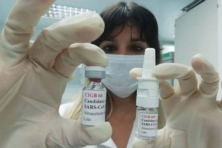 El CIGB lleva adelante dos estudios, Mambisa, que explora la vía nasal, y Abdala la intramuscular. (Foto: PL)