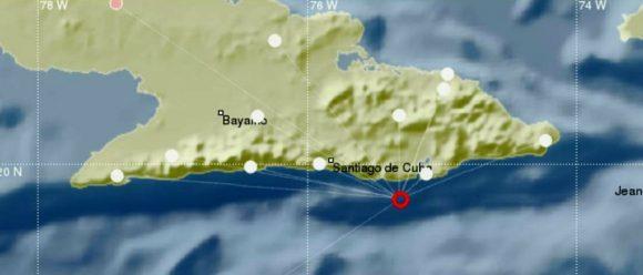 El fenómeno provocó reportes de perceptibilidad en varios municipios de Guantánamo y Santiago de Cuba.