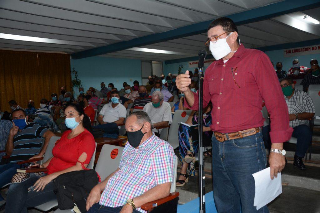 En la reunión se puso de manifiesto que los productores tienen confianza en que se están atendiendo sus inquietudes.