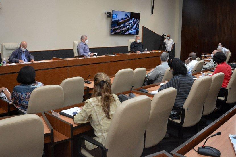 En el encuentro, alrededor de una decena de gobernadoras y gobernadores dieron cuenta del comportamiento de la epidemia en sus provincias. (Foto: Estudios Revolución)