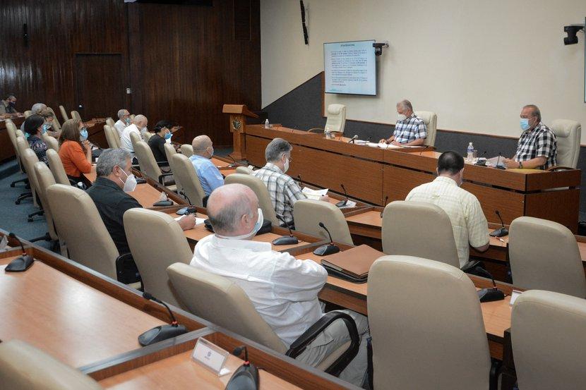 En el diálogo ocurrido en el encuentro, se ratificó el valor de las pesquisas epidemiológicas y de ser ágiles con los casos sospechosos. (Foto: Estudios Revolución)