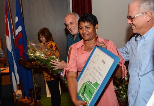 Elsa Ramos reitera el lauro conseguido el año anterior. (Foto: ACN)