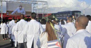 cuba, azerbaiyan, contingente henry reeve, medkicos cubanos, covid-19, coronavirus, miguel diaz-canel