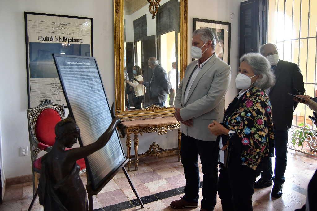 cuba, cultura, sede de la fundacion del nuevo cine latinoamericano, miguel diaz-canel, presidente de la republica de cuba