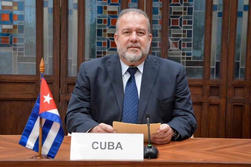 cuba, covid-19, bloqueo de eeuu a cuba, manuel marrero, primer ministro de cuba, union economica euroasiatica